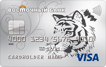 Кредитная карта Кэшбэк Банк Восточный